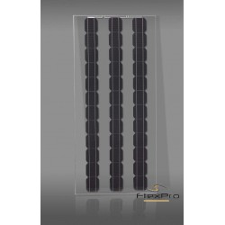 Transparent 165W monocrystalline solar panel