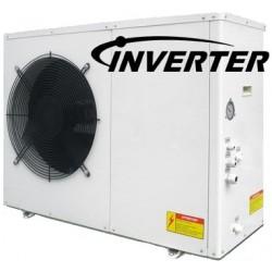Czapka DC falownika powietrza i wody 9.3KW Monobloc