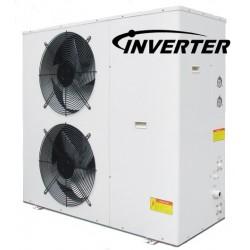 Cap DC INVERTER aria/acqua monoblocco a 18KW