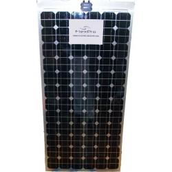 Monocrystalline solar painel 180W flexível