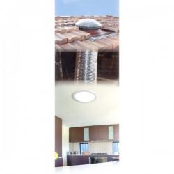 45cm - claraboia de tubo flexível