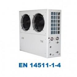 13.5kW hava ısı pompası / su