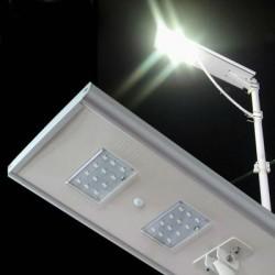 Lampe solaire LED 10W solaire avec panneau intégré