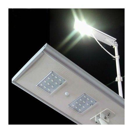 Lámpara solar LED 10W solar con Panel integrado