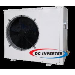 Inversor DC ar-água bomba calor 10kW