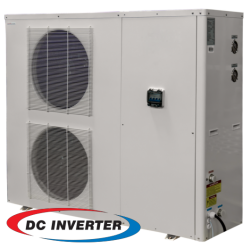 20kW air/water DC Inverter for floor heating heat pump