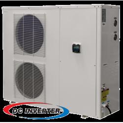 20KW de DC Inverter aire/agua para calefacción por suelo radiante bomba de calor