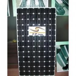 Masse 4 monokrystallinske solceller paneler 165W