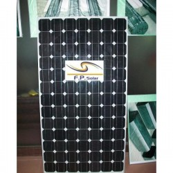 Lot of 4 monocrystalline solar panels 165W