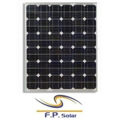 100W Μονοκρυσταλλικών ηλιακών πάνελ
