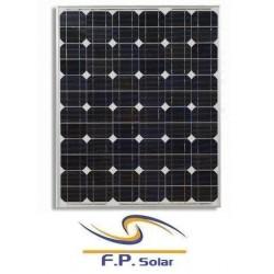100W monokrystallinske solpanel
