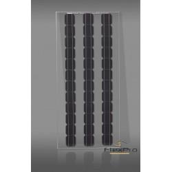 165W transparente monocrystalline solar painel