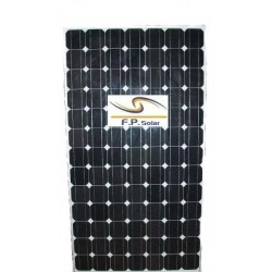 165W monokristall solpanel
