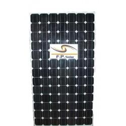 165W monokrystallinske solpanel