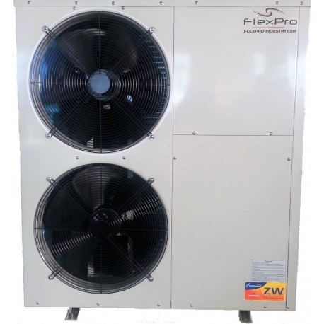 Luft / Wasser-Wärmepumpe 17.5kW EXTREME Kälte - 25 ° C
