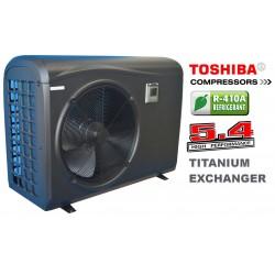 Bazénové tepelné čerpadlo 13kW (PVC konstrukce)