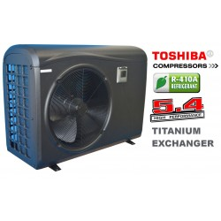 swimming pool heat pump 13kW PVC Cabinet
