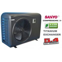 Αντλία θερμότητας πισίνας 13kW (δομή PVC)