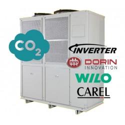 Bomba de calor ar / água de CO2 de 40kW