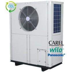 Värmepump 24 kW CO2 luft / vatten