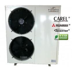 Omriktare luft / vattenvärmepump 25kW