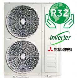 Luftkilde varmepumpe omformer 17kW