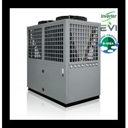 Bomba de calor a ar DC Inverter + EVI 78kW