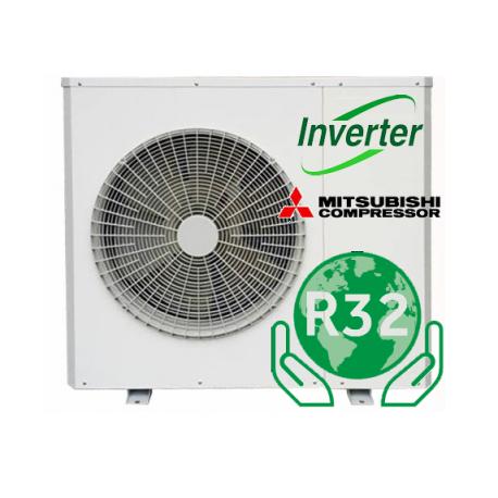 LUCHT / WATER DC-omvormer R32 warmtepomp 12kW