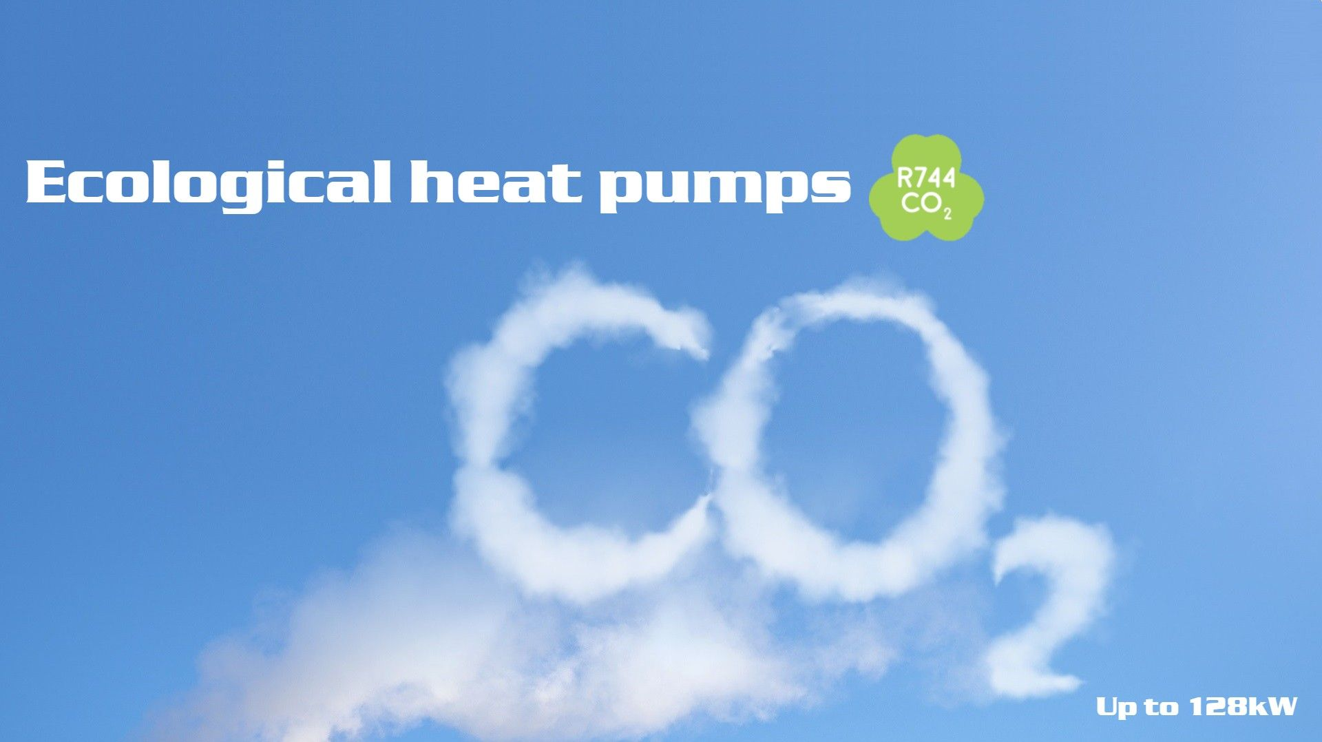 Heat pumps with CO2 compressor R744