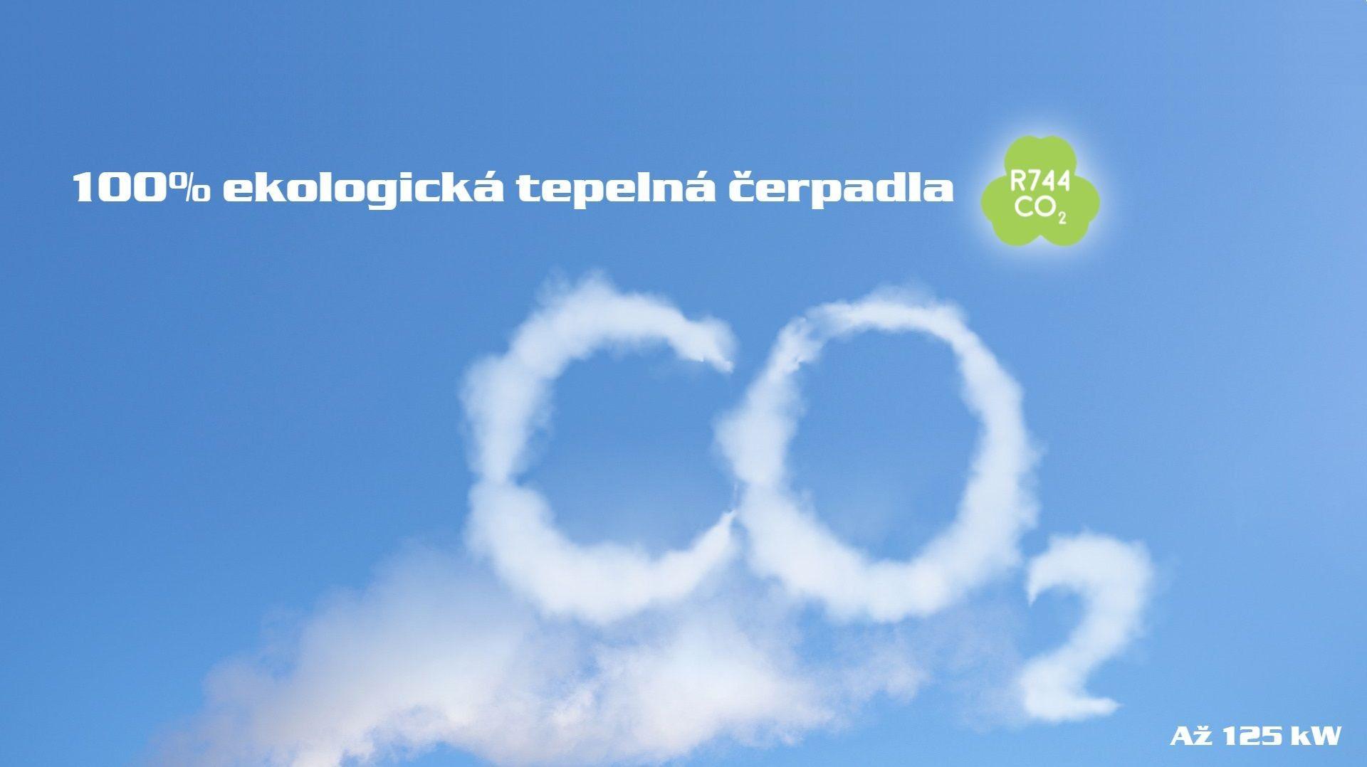 Tepelná čerpadla s CO2 kompresorem R744