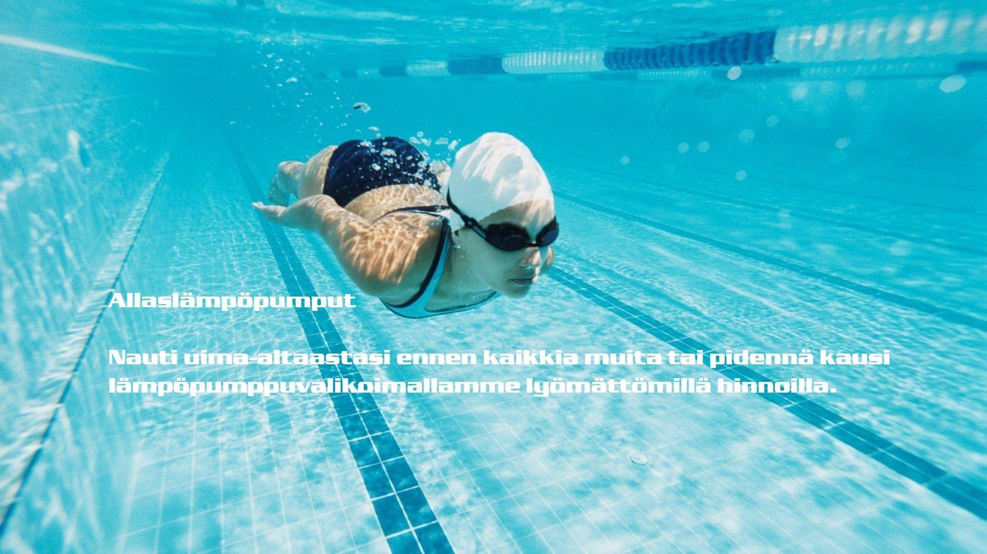 Uima-allas lämpöpumppu