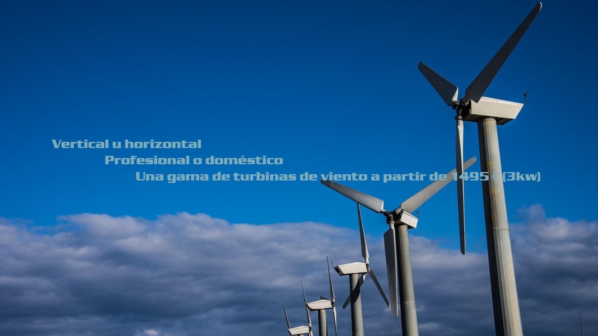 Horizontales y verticales turbinas de viento Flexpro Industry
