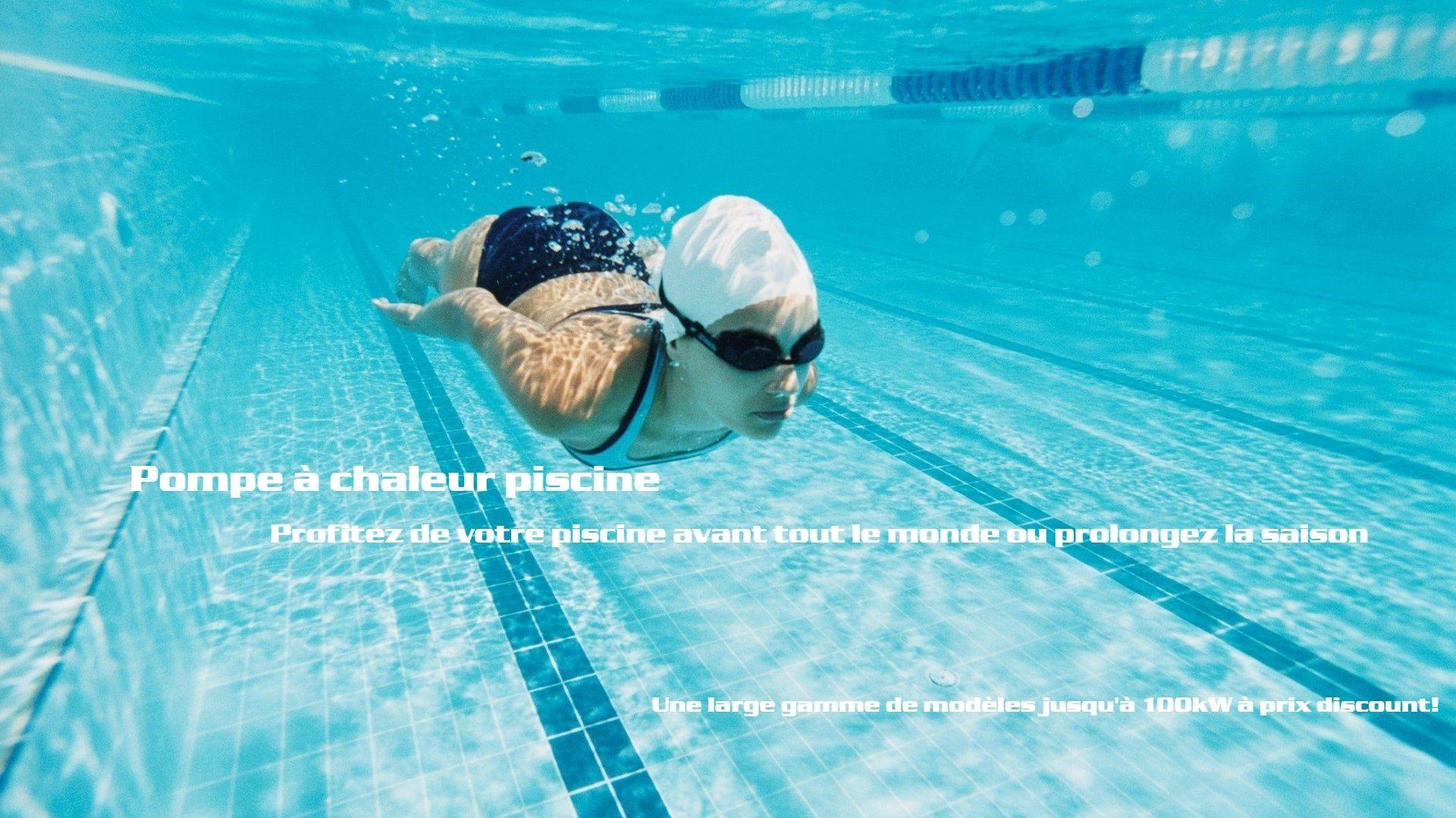 Sélection de pompes à chaleur pour piscines